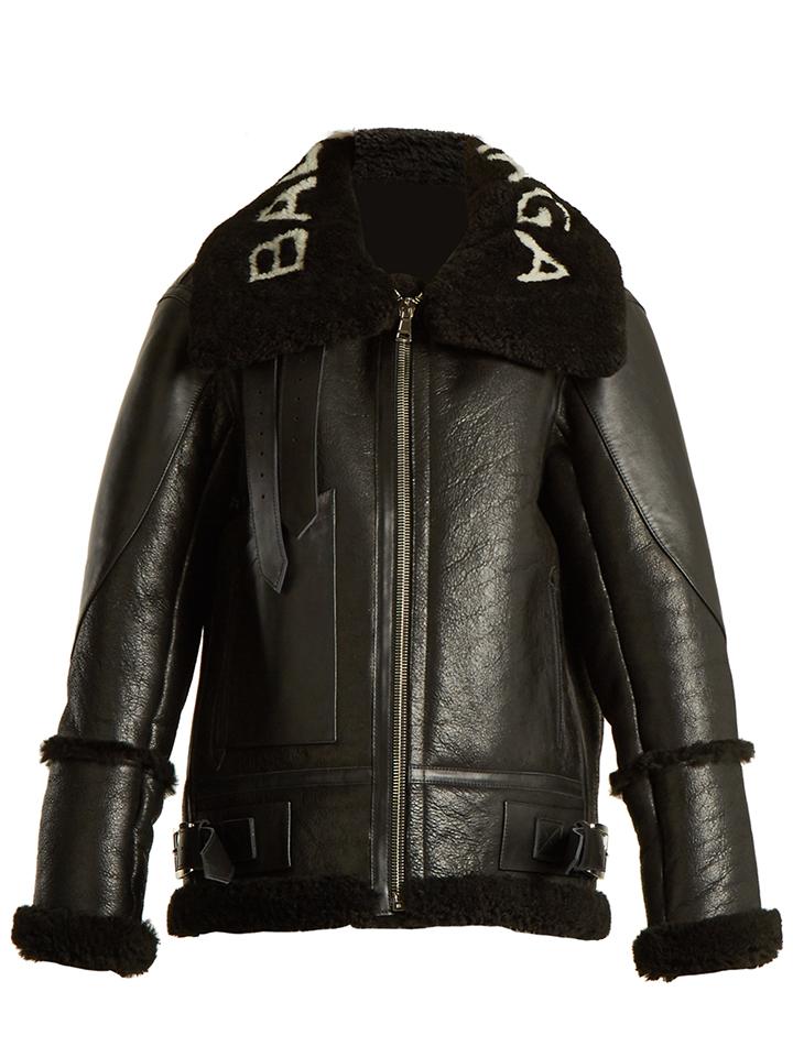 BALENCIAGA--chaqueta-de-motociclista-de-gran-tamano-logo-print