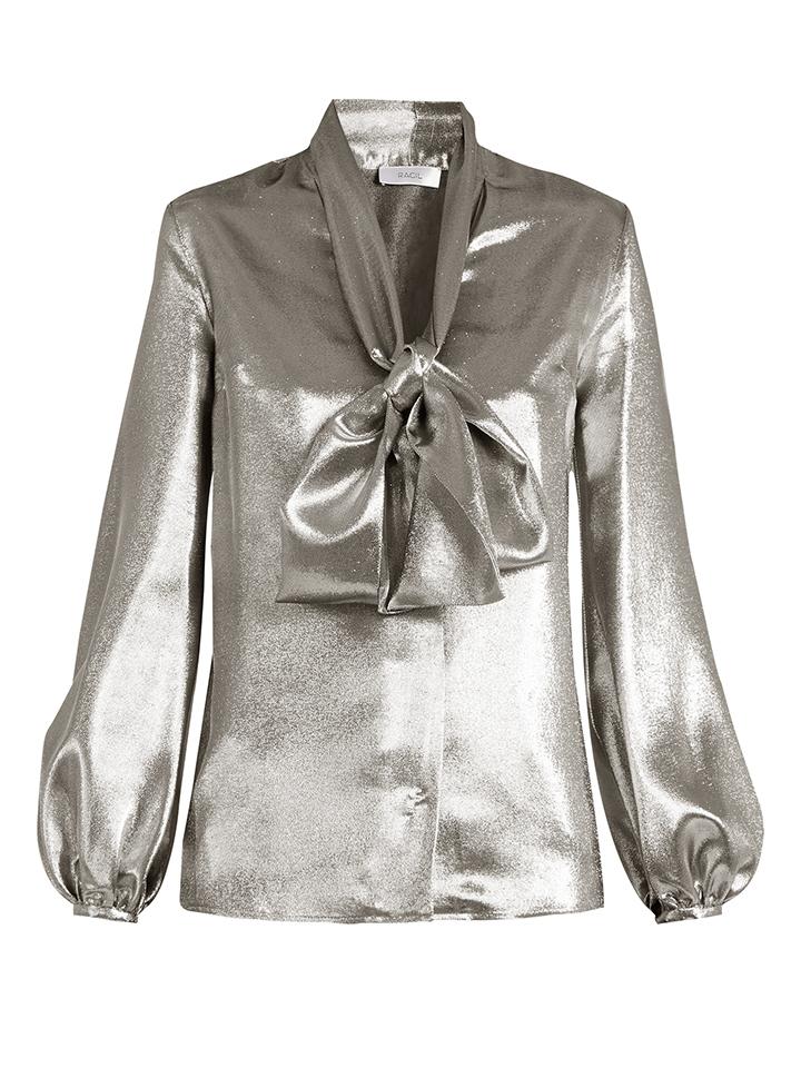 RACIL--Delirante-la-corbata-lame-blusa