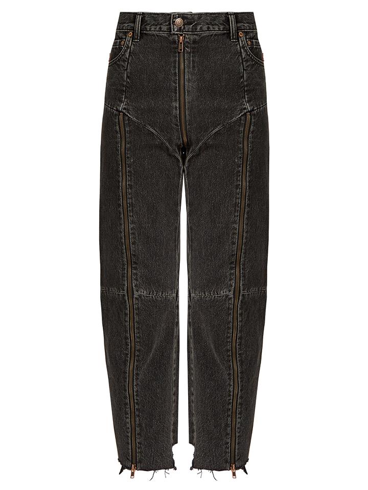 VETEMENTS--pantalones-vaqueros-cónico-pierna-reelaborado-de-X-Levi