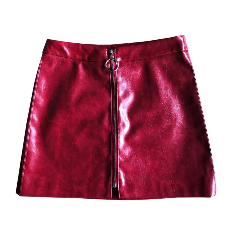 Falda-roja