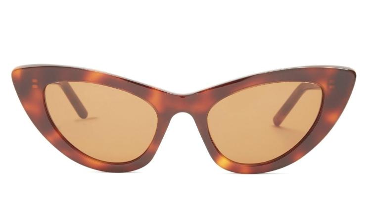 Gafas de sol con montura de ojo de gato SAINT LAURENT