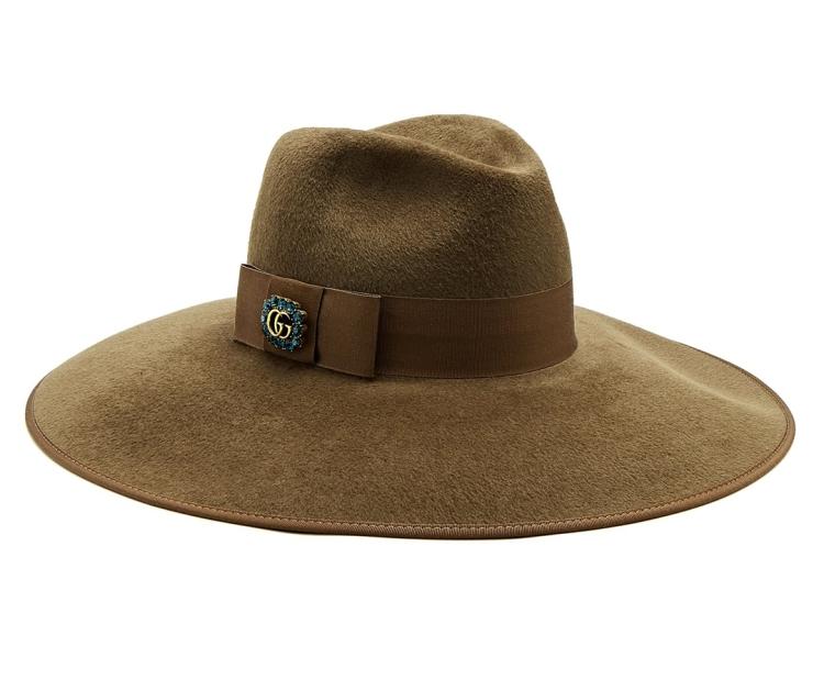 Sombrero-de-fieltro-de-piel-con-adornos-de-GUCCI-